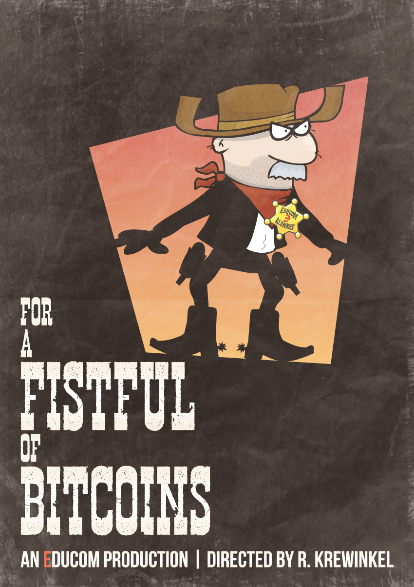 For a fistful of bitcoins